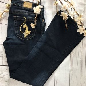BABY PHAT Flare Jeans size 3